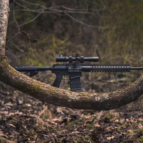 photo of a 308 rifle with the best .308 ammo