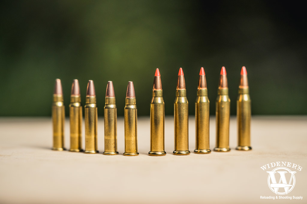 photo of 17 hmr ammo and 17 wsm ammo outdoors