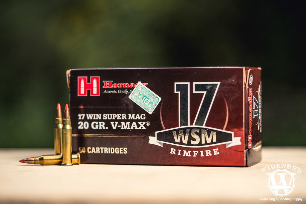 photo of hornady 17 wsm ammo outdoors