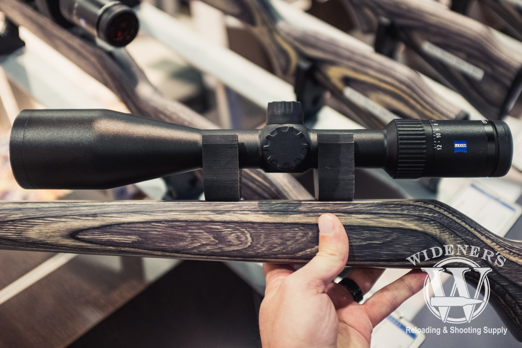photo of the new Zeiss Conquest V4 3-12x56 at shot show 2019