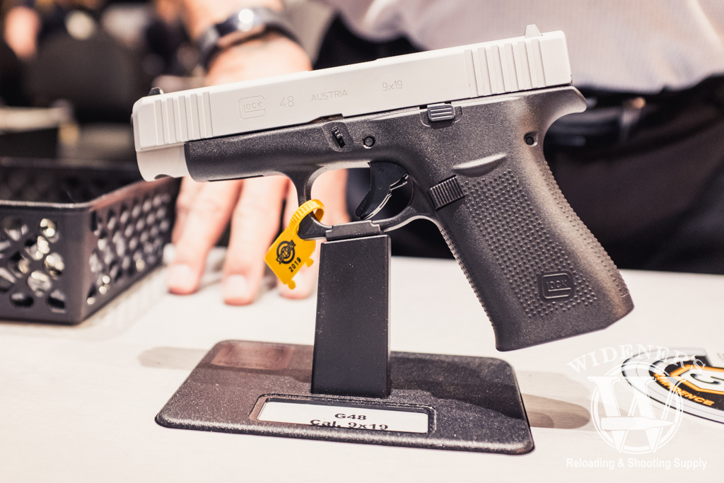 photo of the glock g48 at shot show 2019
