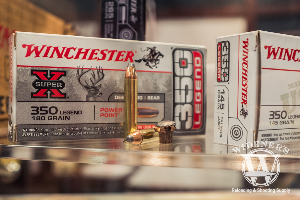 photo of 350 Legend Super X 180gr ammo