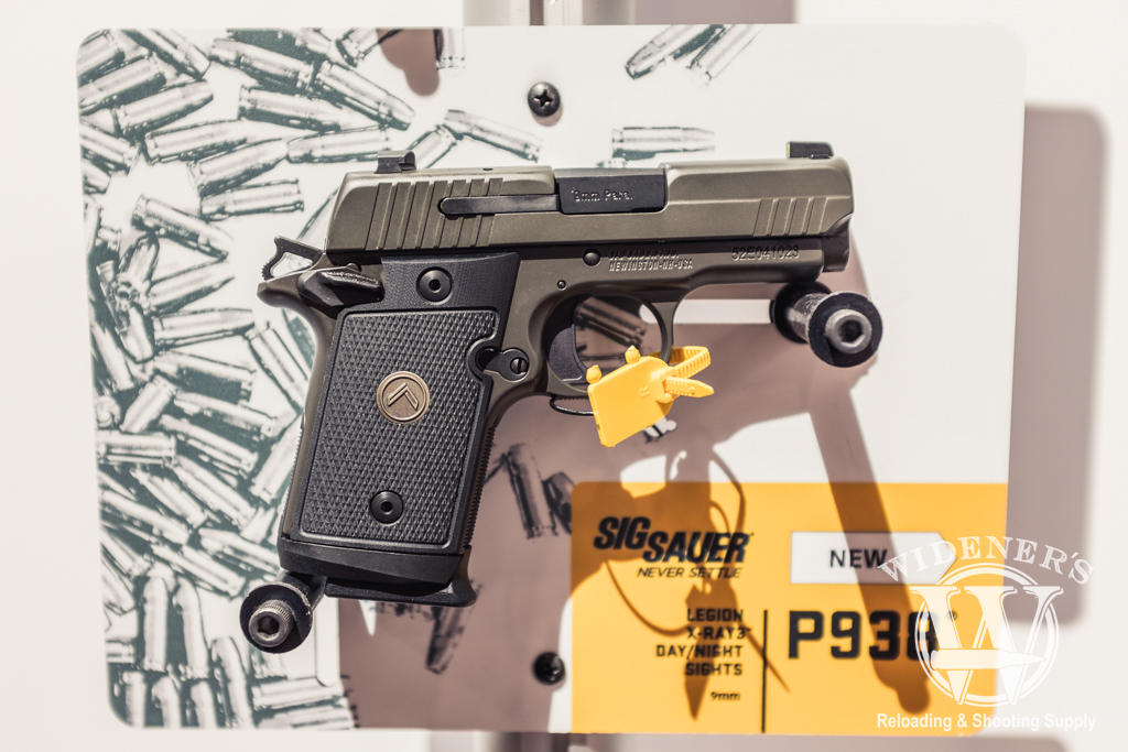 photo of the Sig P938 Legion micro-compact chambered in 9mm