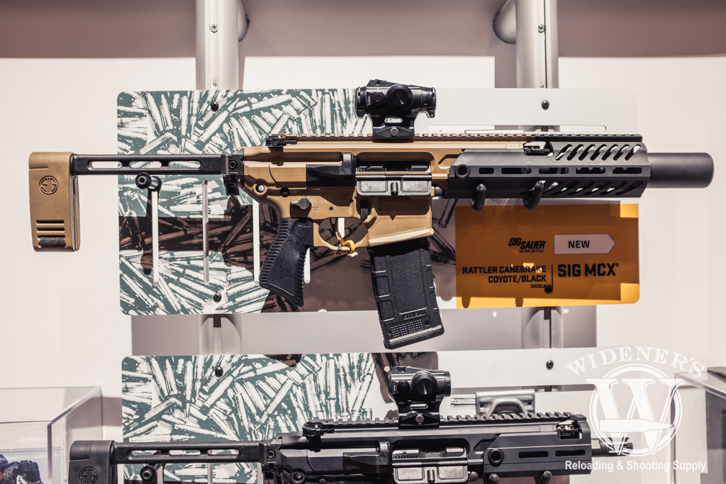 photo of Sig MCX Rattler Canebreak chambered in 300 BLK