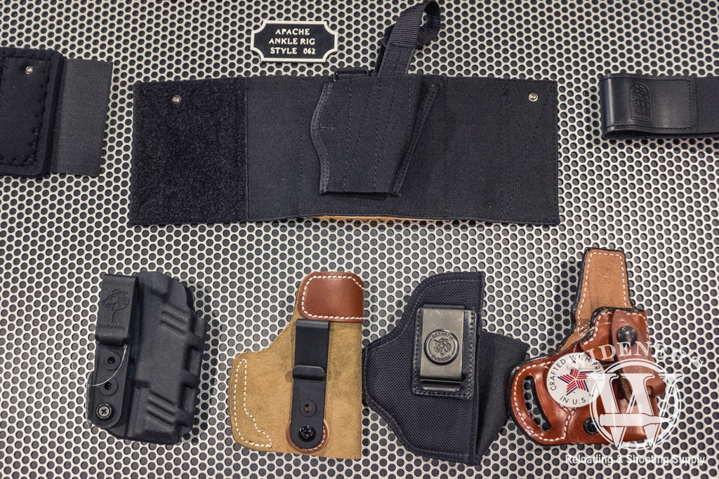 a photo of the DeSantis line of carry options for the Glock G43X and G48 pistols