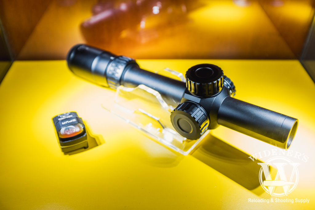 photo of the nikon Black Force 100 1X 6x24 scope at shot show 2019