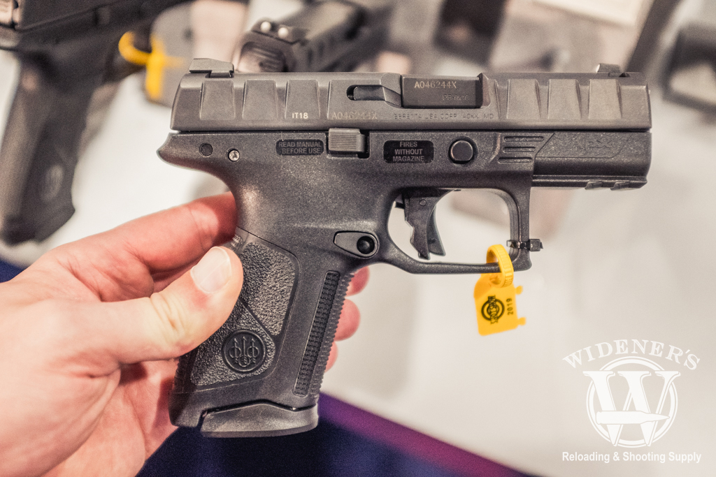 photo of the beretta APX Centurion at shot show 2019