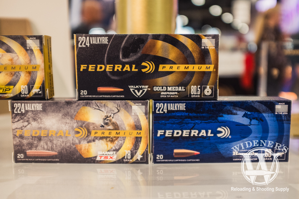 photo of the Federal 224 Valkyrie at shot show 2019