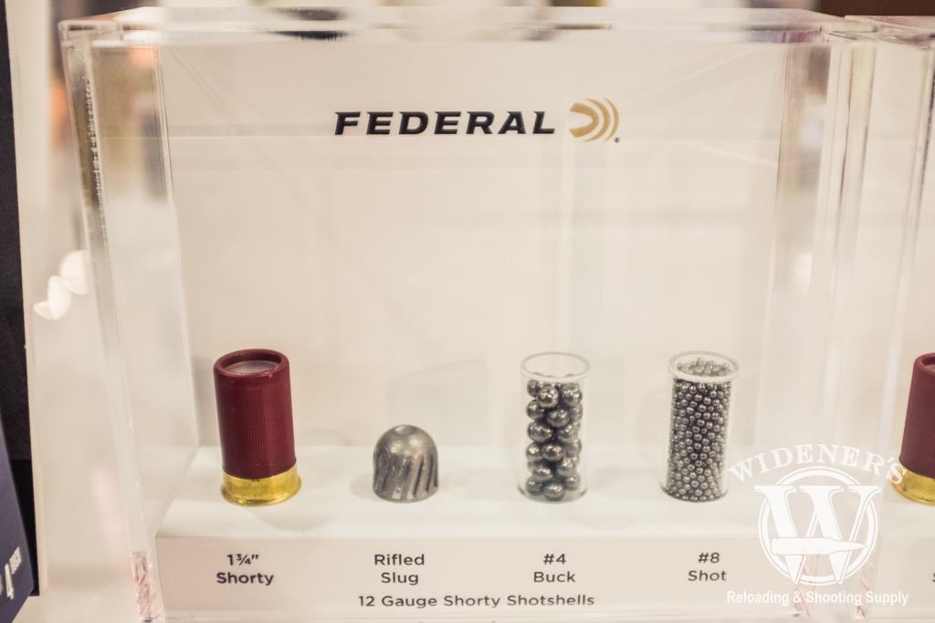 photo of the Federal Shorty Shotshell shot show 2019