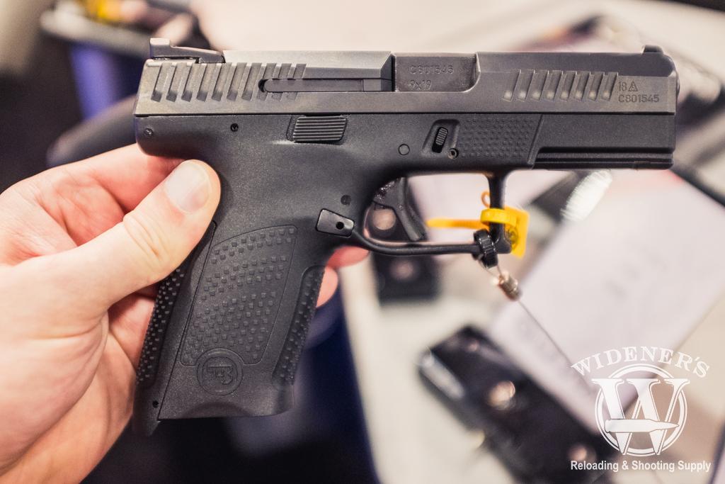 photo of the CZ P-10 C 9mm handgun