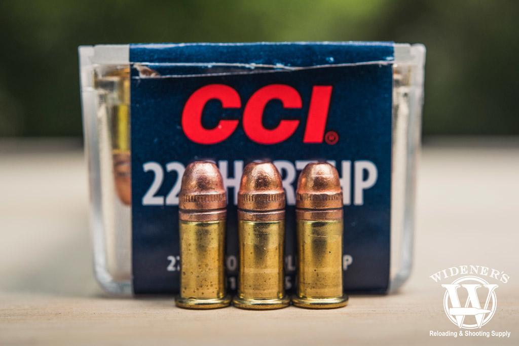 photo of CCI 22 short ammo outside