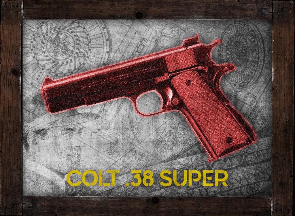 A photo of 38 special colt 38 super john dillinger gangster guns