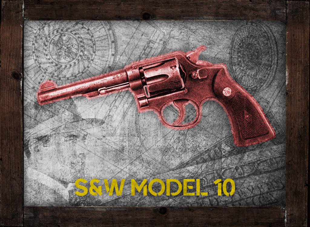 a photo of a .38 special smith and wesson model 10 al capone gun