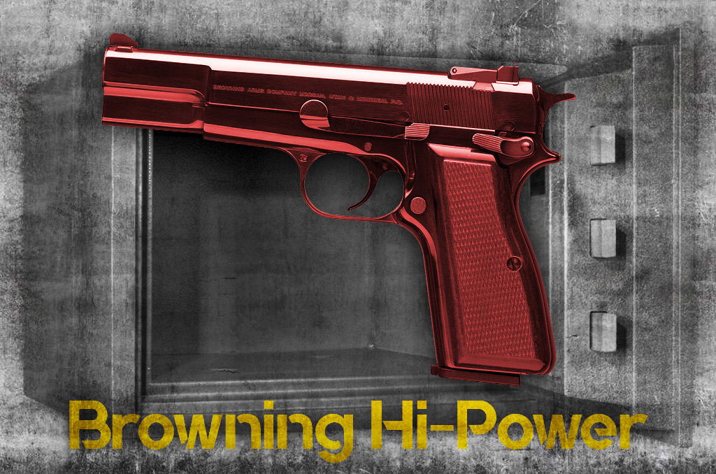 photo of the Browning Hi-Power 9mm pistol