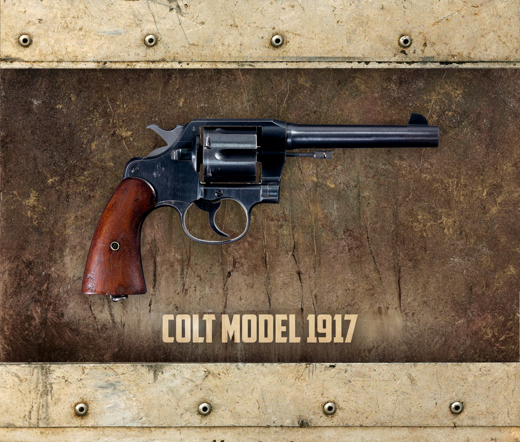 photo of the colt model 1917