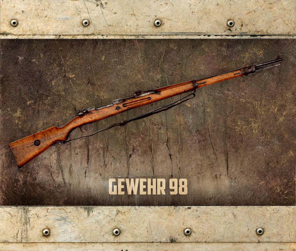 photo of theGewehr 98 rifle