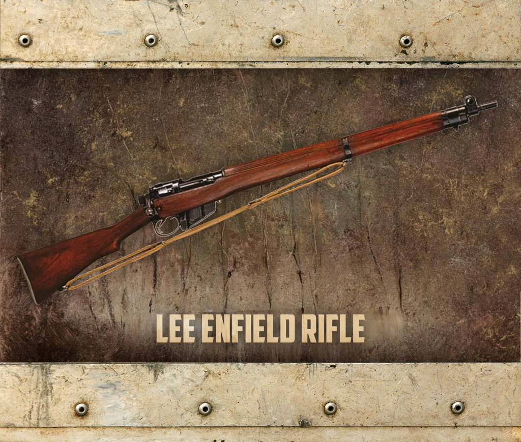 photo of the Lee-Enfield rifle