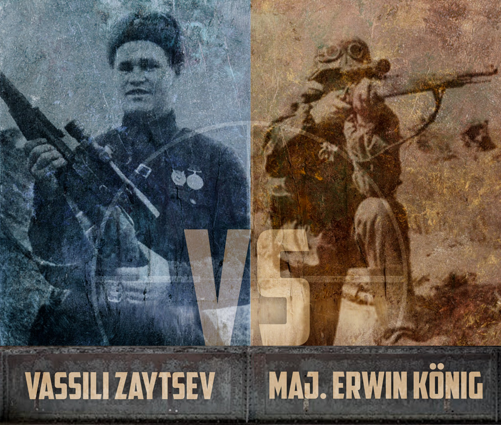 A photo of History's Greatest Sniper Duels Vassili Zaytsev vs Major Erwin König